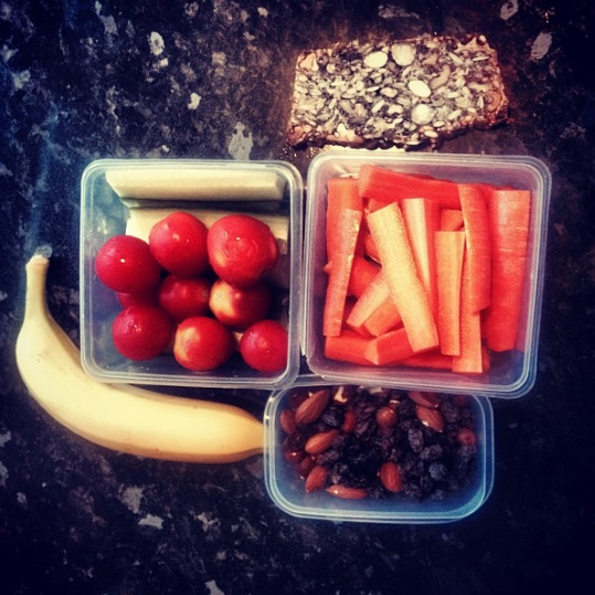 Undgå snacking med en sund madpakke