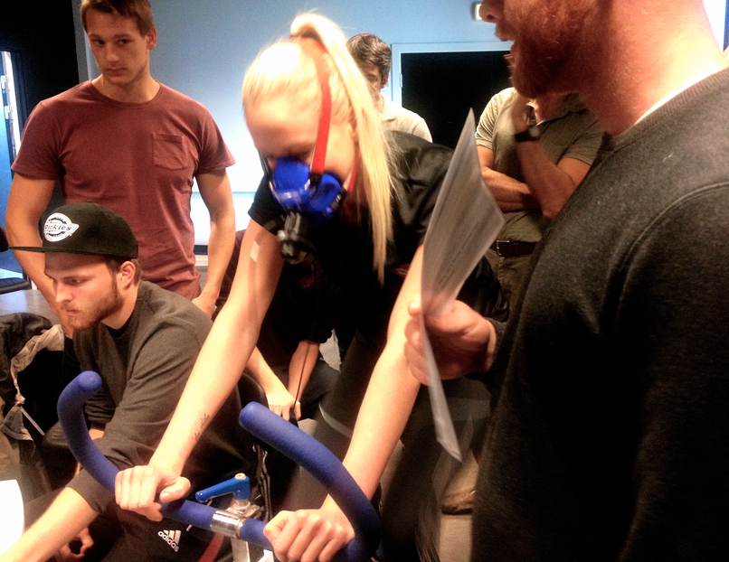 Trænings-tjek… VO2 max test!